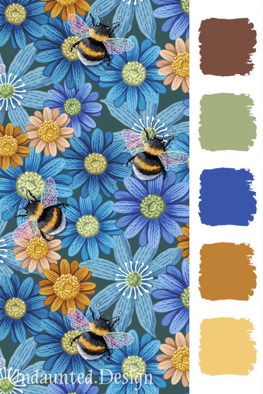 Bumblebee Garden by Marit Cooper
