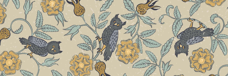 Tudor Owls by Marit Cooper
